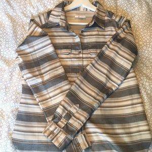 Columbia Long Sleeved Button Up Shirt